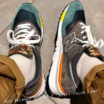 New Balance 997 Grey Navy Camo   Made In USA アメリカ製