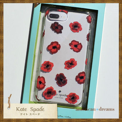 kate spade new york iPhone・スマホケース 即発送★【kate spade】お花柄 iPhone7Plus 6/6SPlus 8Plus