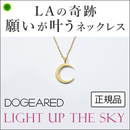 【Dogeared】light up the sky ムーンモチーフ ネックレス