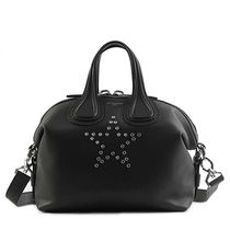 GIVENCHY NIGHTINGALE  スター  2WAYバッグ  BLACK