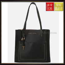 【マークジェイコブス】The Medium Grind Leather Tote Black