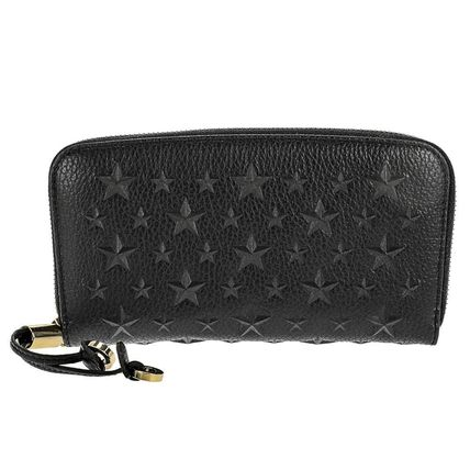 JIMMY CHOO FILIPA EMG/BLK 長財布【レア】
