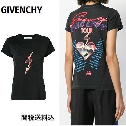 18AW関送込◆GIVENCHY◆Mad Tourプリント コットン Tシャツ