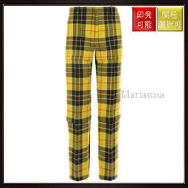 【バレンシアガ】3 In 1 Tartan Twill Pants OneColor