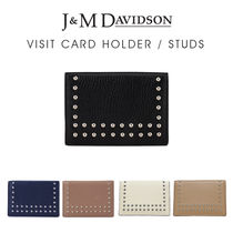 『J&M Davidson』VISIT CARD HOLDER/STUDS〔10082N/7266〕