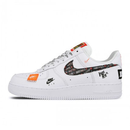 "Nike スニーカー NIKE AIR FORCE 1 '07 PREMIUM ""JUST DO IT"""