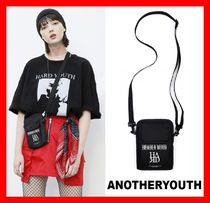 ANOTHERYOUTH(アナザーユース) ショルダーバッグ 2018SS☆韓国の人気【ANOTHERYOUTH】☆Square Cross Bag ☆