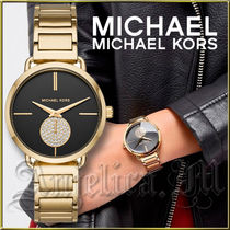 ★安心ヤマト便★MICHAEL KORS Portia Gold-Tone Watch MK3788