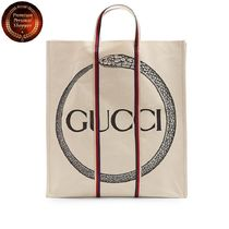GUCCI Ouroborosプリント コットントートバッグ 関税送料込