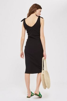 TOPSHOP マタニティワンピース 【国内発送・関税込】TOPSHOP★MATERNITY Tie Lettuce Bodycon(4)