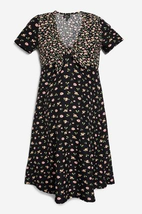 TOPSHOP マタニティワンピース 【国内発送・関税込】TOPSHOP★MATERNITY Floral Tea Dress(2)