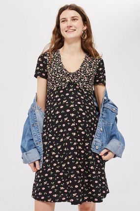 TOPSHOP マタニティワンピース 【国内発送・関税込】TOPSHOP★MATERNITY Floral Tea Dress(3)