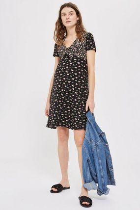 TOPSHOP マタニティワンピース 【国内発送・関税込】TOPSHOP★MATERNITY Floral Tea Dress(4)