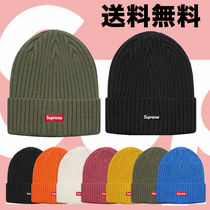 18SS Supreme Overdyed Ribbed Beanie ニットキャップ