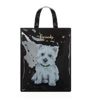 Harrods(ハロッズ) エコバッグ HARRODS Medium Westie Puppy Shopper Bag