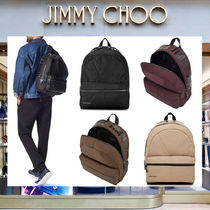 18AW☆ Jimmy Choo REED キャンバス・バックパック 各色