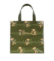 Harrods(ハロッズ) エコバッグ HARRODS Small Rufus Bear Shopper Bag