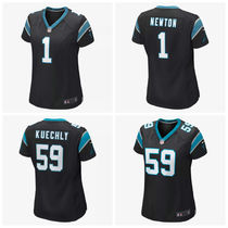 【送料込み】レディース  NFL Carolina Panthers Game Jersey