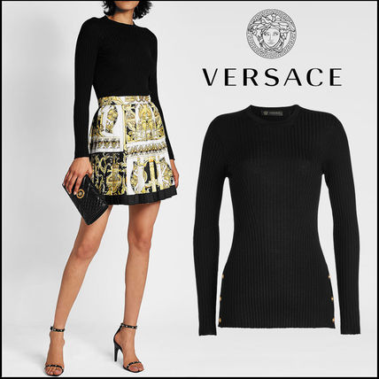VERSACE(ヴェルサーチ)★Ribbed Wool Pullover