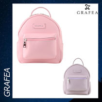GRAFEA(グラフィア) バックパック・リュック GRAFEA ZIPPY PINK リュックサック バッグ カバン レザー 各色