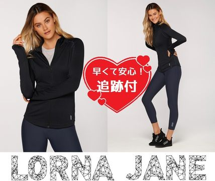 Lorna Jane フィットネストップス ★追跡有【Lorna Jane】Cosy Active L/Slv Jacket★