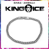 ☆KING ICE☆3mm White Gold Miami Cuban Chain Bracelet