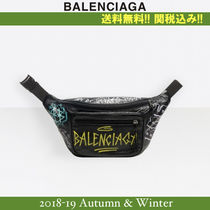 18-19AW★BALENCIAGA(バレンシアガ)Explorer belt pack graffiti