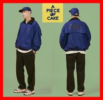 A PIECE OF CAKE(ピースオブケイク) ブルゾン 18SS★人気【A PIECE OF CAKE】★ Oval Logo Blouson ★UNISEX★