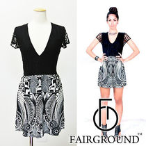 即日配達【Fairground】NIGHT BEACON SHORT DRESS