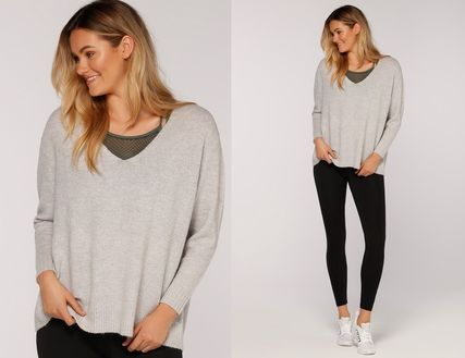 Lorna Jane フィットネストップス ★追跡有【Lorna Jane】Namaste L/Slv Knit Top★(4)