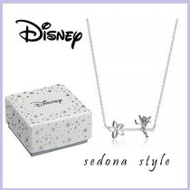 ★Disney★Wand with Tinkerbell Pendant Necklace