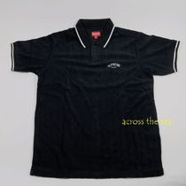★Supreme★ Cable Knit Terry Polo SS 18 WEEK 17