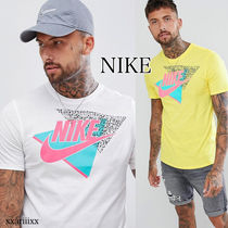 ◆NEW◆NIKE◆ 90s プリント Tシャツ ホワイト / イエロー