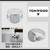 2018新作【関税&送料込】**Tom Wood**Link Signet Ring/Silver