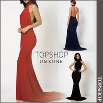 【国内発送・関税込】TOPSHOP★Backless Halter Maxi by Club L