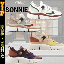 "◆◆VIP◆◆ CHLOE ""SONNIE"" low-top レザー Volume スニーカー"