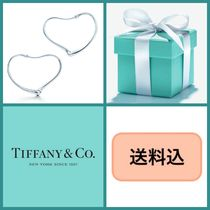 ■送料込■ TIFFANY & Co. Open Heart Hoop Earrings size S M L
