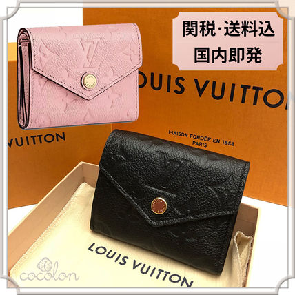 Louis Vuitton 折りたたみ財布 国内発[Louis Vuitton] ポルトフォイユ ゾエ コンパクト折財布