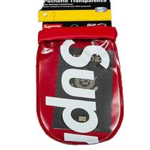 【18SS】Supreme SealLine See Pouch Large ポーチ 小銭入れ 赤