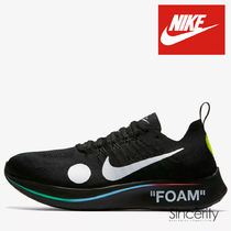 AO2115-001 NIKE ZOOM FLY MERCURIAL FLYKNIT x OFF-WHITE / 7.5