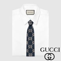 GUCCI ネクタイ GG ロゴ 新作 SS18 スーツ ギフト プレゼント★