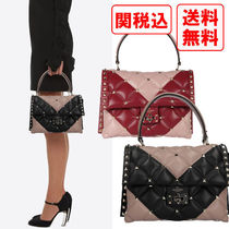 "SALE! 関税・送料込☆ VALENTINO CANDYSTUD ""V""モチーフバッグ"