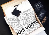 2018 LOUIS VUITTON★★LV LIST PRINTED PATCHWORK OVERSIZE TEE