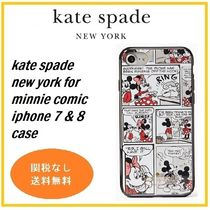 kate spade new york for minnie comic iphone 7 & 8 限定コラボ