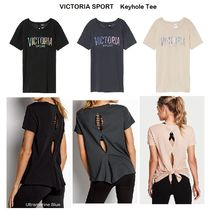 Victoria Sport【国内発送】バックキーホール☆Tee☆ロゴ入り☆