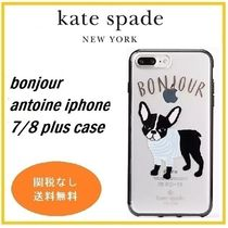 bonjour antoine iphone 7/8 plus case フレンチブル