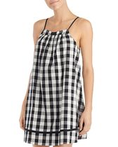 大人気 kate spade new york Check Chemise