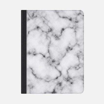 Casetify スマホケース・テックアクセサリー ★Casetify★iPadケース#MODERN ELEGANT BLACK AND WHITE MARBLE