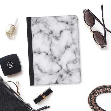 Casetify スマホケース・テックアクセサリー ★Casetify★iPadケース#MODERN ELEGANT BLACK AND WHITE MARBLE(2)