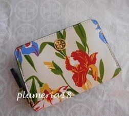 sale!Tory Burch-Printed Floral COIN CASE